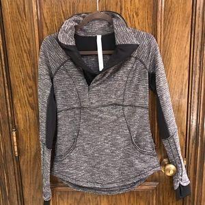 Lululemon 3/4 zip pullover